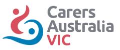 Carers Austrialia Vic Logo