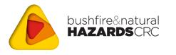 Bushfire & Natural Hazards CRC Logo