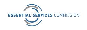 Essential Services Commission Logo