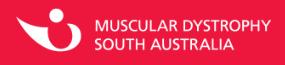 Muscular Dystrophy SA Logo