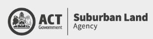 ACT Gov Suburban Land Agency Logo