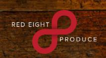 Red 8 Produce Logo