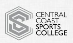 Central Coast Sports College Logo