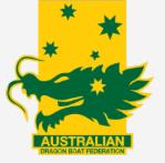 Aus Dragon Boat Federation Logo
