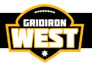 Gridiron West Logo
