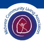 Midwest Community Living Association Logo